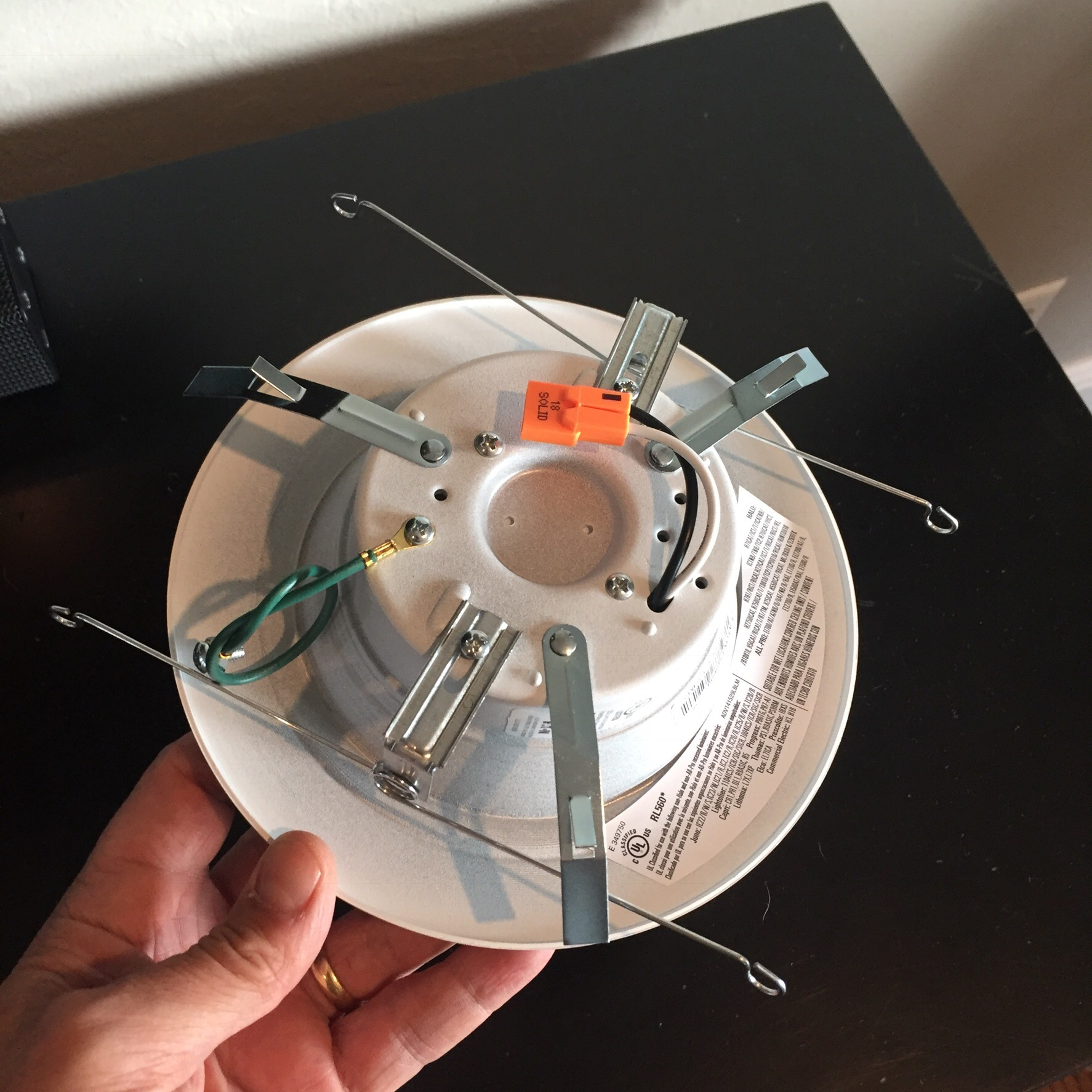 This brand of LED recessed lighting comes with two built-in assemblies for installation Torsion Springs and Friction Clips. & LED Lighting Conversion and Installation u2013 Handiest Jew™ azcodes.com